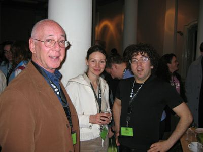 Jeffrey Goldstein (Utrecht U.), Aphra Kerr (Dublin City U.) and Eric Zimmerman (GameLab).
