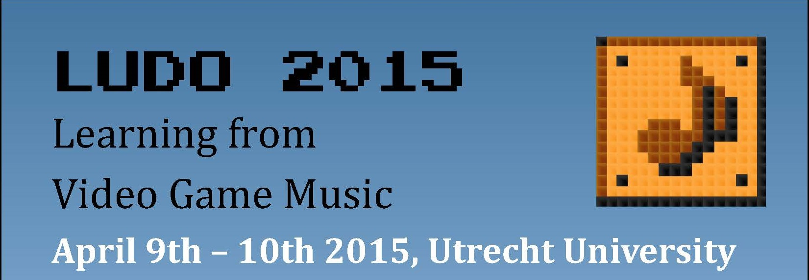 Ludo 2015 poster header